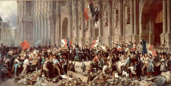 The French Revolution, beginning in 1789, followed the American Revolution, declared in 1776.