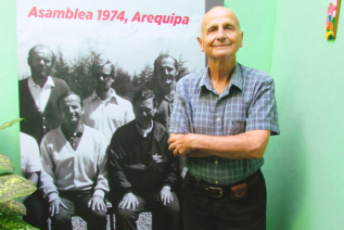 Brother Jim Glos celebrates 60 years as a Christian Brother and 45 years since coming toPeru