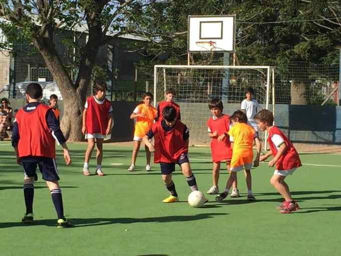 Montevideo | Two colleges meet to play sports for a noble cause; By Sergio Boragno