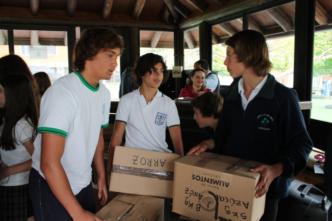 Stella Maris College participates in campaign 'for you thanks to you', organized by the Food Bank