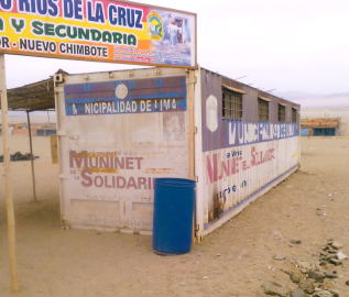 Spreading the Good News of Jesus to the people in Nuevo Horizonte; by Brother Chuck Fitzsimmons