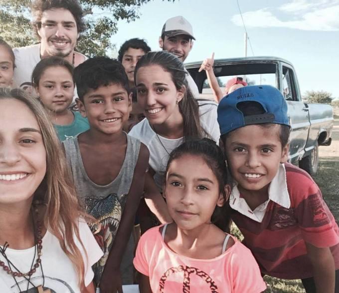 Alumni from Stella Maris were invited to participate in Edmund Rice Mission in Santa Elena,Argentina