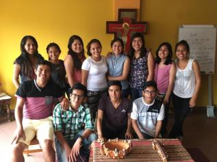 The group Caminantes grows: Starting the year, former Fe y Alegria students joined the team